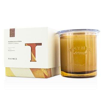 Thymes Lumânare Aromată - Rosewood Citron  284g/10oz