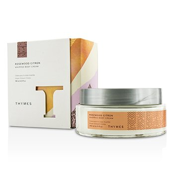 Thymes Rosewood Citron Whipped Body Cream  190ml/6.5oz