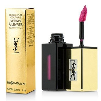 Yves Saint Laurent Rouge Pur Couture Vernis A Levres Color Brillo Agua - #206 Misty Pink  6ml/0.2oz