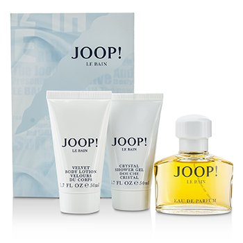 Joop Le Bain szett: Eau De Parfüm spray 40ml/1.35oz + testápoló lotion 50ml/1.7oz + tusolózselé 50ml/1.7oz  3pcs