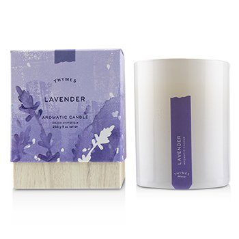 Thymes Lavender Aromatic Candle 9 oz
