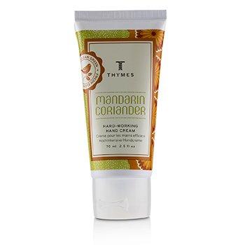 Mandarin Coriander Hard Working Hand Cream  70ml/2.5oz