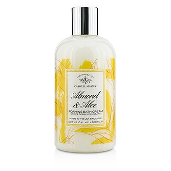 Caswell Massey Almond & Aloe Foaming Bath Cream  300ml/10oz