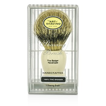 Fine Badger Shaving Brush - Ivory  1pc