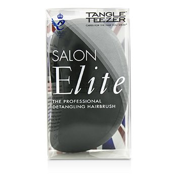 Salon Elite Professional Detangling Hair Brush - Midnight Black (For Wet & Dry Hair)  1pc