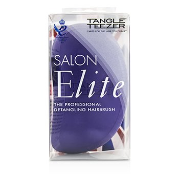 Salon Elite Professional Detangling Hair Brush - # Purple Crush (For Wet & Dry Hair)  1pc