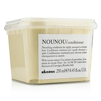 Nounou Nourishing Conditioner (For Highly Processed or Brittle Hair)  250ml/8.45oz