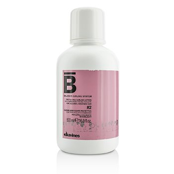 Davines โลชั่นปกป้องผม Balance Curling System Protecting Curling Lotion # 2 (For Coloured, Sensitized Hair)  500ml/16.9oz