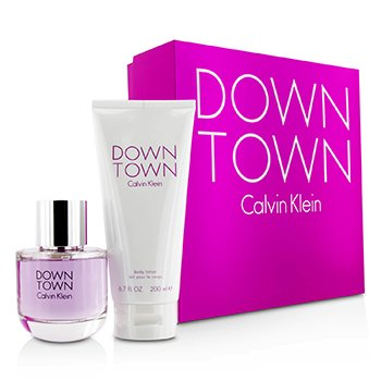 Downtown Coffret: Eau De Parfum Spray 90ml/3oz + Body Lotion 200ml/6.7oz (Pink Box)  2pcs