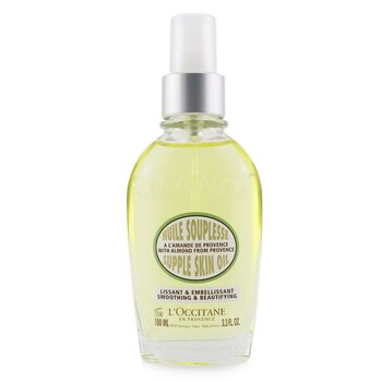 Almond Supple Skin Oil - Smoothing & Beautifying  100ml/3.4oz