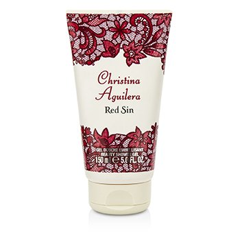 Christina Aguilera Red Sin Shower Gel  150ml/5oz