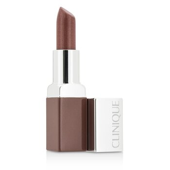 Clinique Clinique Pop Huulipuna + Pohjustaja - # 02 Bare Pop  3.9g/0.13oz