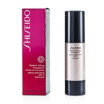 Shiseido Radiant Lifting Foundation SPF 17 - # D30 Very Rich Brown  30ml/1.2oz