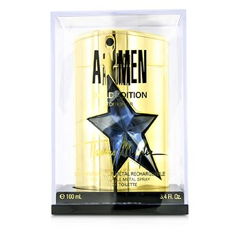 Thierry Mugler (Mugler) A*Men Gold Edition Eau De Toilette Refillable Metal Spray  100ml/3.4oz