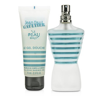 Le Beau Male Coffret: Eau De Toilette Spray 75ml/2.5oz + Shower Gel 75ml/2.5oz  2pcs
