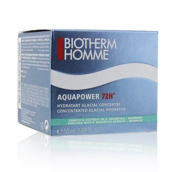 Homme Aquapower 72H Concentrated Glacial Hydrator  50ml/1.69oz