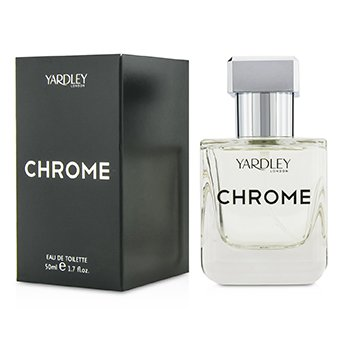 Yardley Chrome Eau De Toilette Spray  50ml/1.7oz