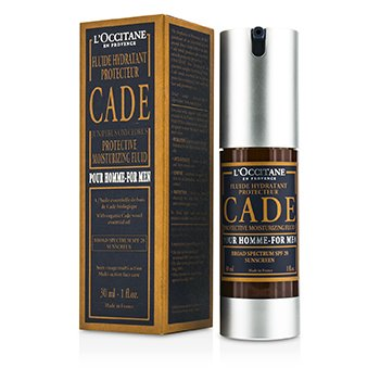 L'Occitane Cade For Men Protective Moisturizing Fluid Broad Spectrum SPF 20 Sunscreen  30ml/1oz