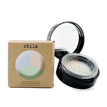 Stila Set & Correct Baked Powder Trio - #The Correctors  4.5g/0.16oz