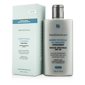 Skin Ceuticals Sheer Physical UV Defense SPF 50 - Limited Edition Size  125ml/4.2oz