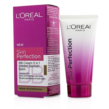 L'Oreal Skin Perfection Crema BB B�lsamo 5 en 1 SPF 25 - # Medium  50ml/1.69oz