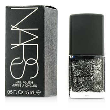 NARS Esmalte Uñas - #Night Breed (Negro con Brillos Plateados)  15ml/0.5oz