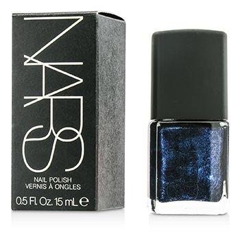 NARS Esmalte Uñas - #Night Flight (Negro con perlas azul cobalto)  15ml/0.5oz
