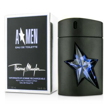 Thierry Mugler A*Men Gomme Rubber Flask Eau De Toilette Refillable Spray  100ml/3.4oz