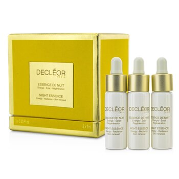 Decleor Esencja na noc Night Essence  3x7ml/0.23oz