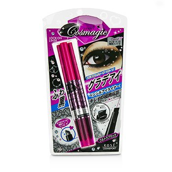 Kose Cosmagic Lock On Liner - #BK01  0.2g/0.007oz