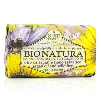 Bio Natura Sustainable Vegetal Soap - Argan Oil & Wild Hay  250g/8.8oz