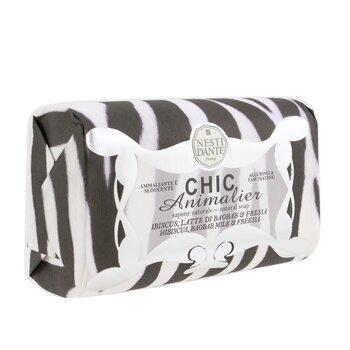 Chic Animalier Natural Soap - Hibiscus, Baobab Milk & Freesia  250g/8.8oz