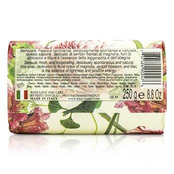 Dolce Vivere Fine Natural Soap - Pisa - White Magnolia, Apricot Blossom & Lilium  250g/8.8oz