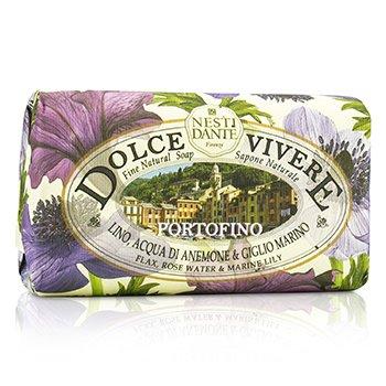 Nesti Dante Dolce Vivere Fine Sapun Natural - Portofino - Flax, Rose Water & Marine Lily  250g/8.8oz