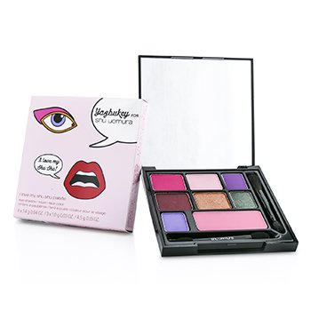 Shu Uemura I Love my Shu Shu Palette (Yazbukey Collection): 7xPressed Eye Shadow + 1xBlush Color  13.1g/0.44oz