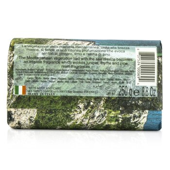 Emozioni In Toscana Natural Soap - Mediterranean Touch  250g/8.8oz