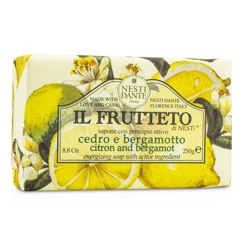 Nesti Dante Il Frutteto Energizing Soap - Citron & Bergamot  250g/8.8oz