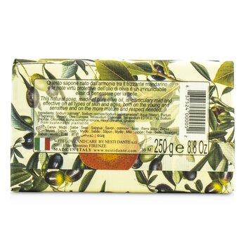 天然鮮果系列 橄欖柑橘皂  250g/8.8oz