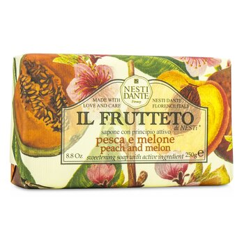 Il Frutteto Sweetening Soap - Peach & Melon  250g/8.8oz