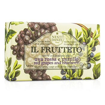 Il Frutteto Illuminating Soap - Red Grapes & Blueberry  250g/8.8oz