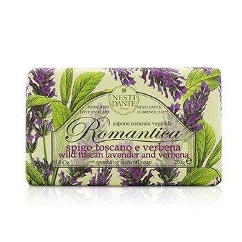 Romantica Sparkling Natural Soap - Wild Tuscan Lavender & Verbena  250g/8.8oz