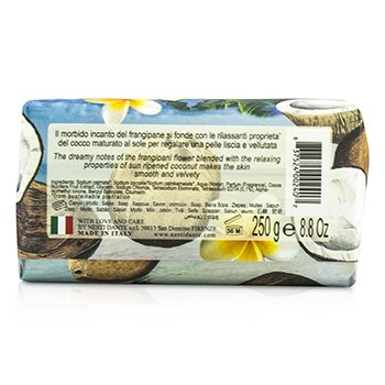 Paradiso Tropicale Triple Milled Natural Soap - St. Barth's Coconut & Frangipani  250g/8.8oz