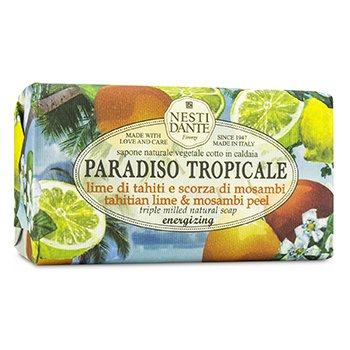 Paradiso Tropicale Triple Milled Natural Soap - Tahitian Lime & Mosambi Peel  250g/8.8oz