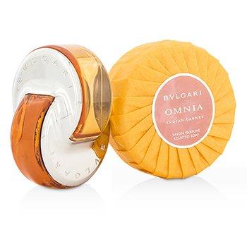 Omnia Indian Garnet Coffret: Eau De Toilette Spray 40ml/1.35oz + Scented Soap 150g/5.3oz  2pcs