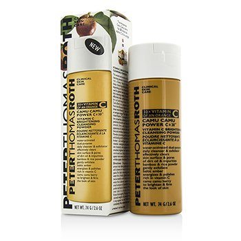 Peter Thomas Roth Camu Camu Power Cx30 Vitamin C Polvo Limpiador Iluminador  74g/2.6oz