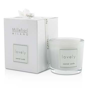 Millefiori Lovely Candle In Bicchiere - Lilla - Lilin  60g/2.11oz