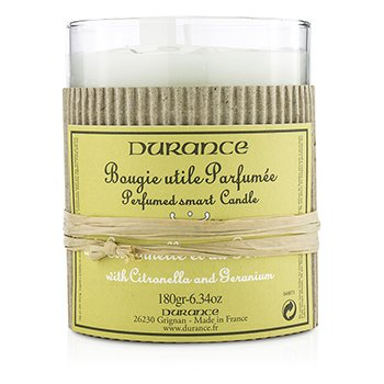 Durance Świeca zapachowa Perfumed Smart Candle - Citronella and Geranium  180g/6.34oz