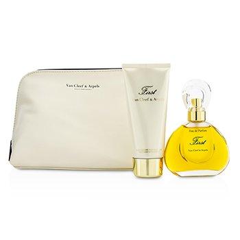 Van Cleef & Arpels First Coffret: Eau De Parfum Spray 60ml/2oz + Body Lotion 100ml/3.3oz  2pcs