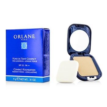 Orlane Compact Foundation SPF22 (Raidant Finish/Long Lasting) - #03 Champagne  9g/0.31oz