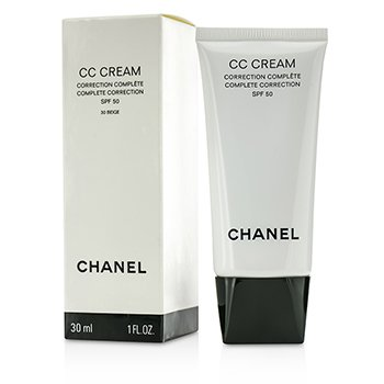 Chanel CC Cream Complete Correction SPF 50/PA++++ # 30 Beige  30ml/1oz